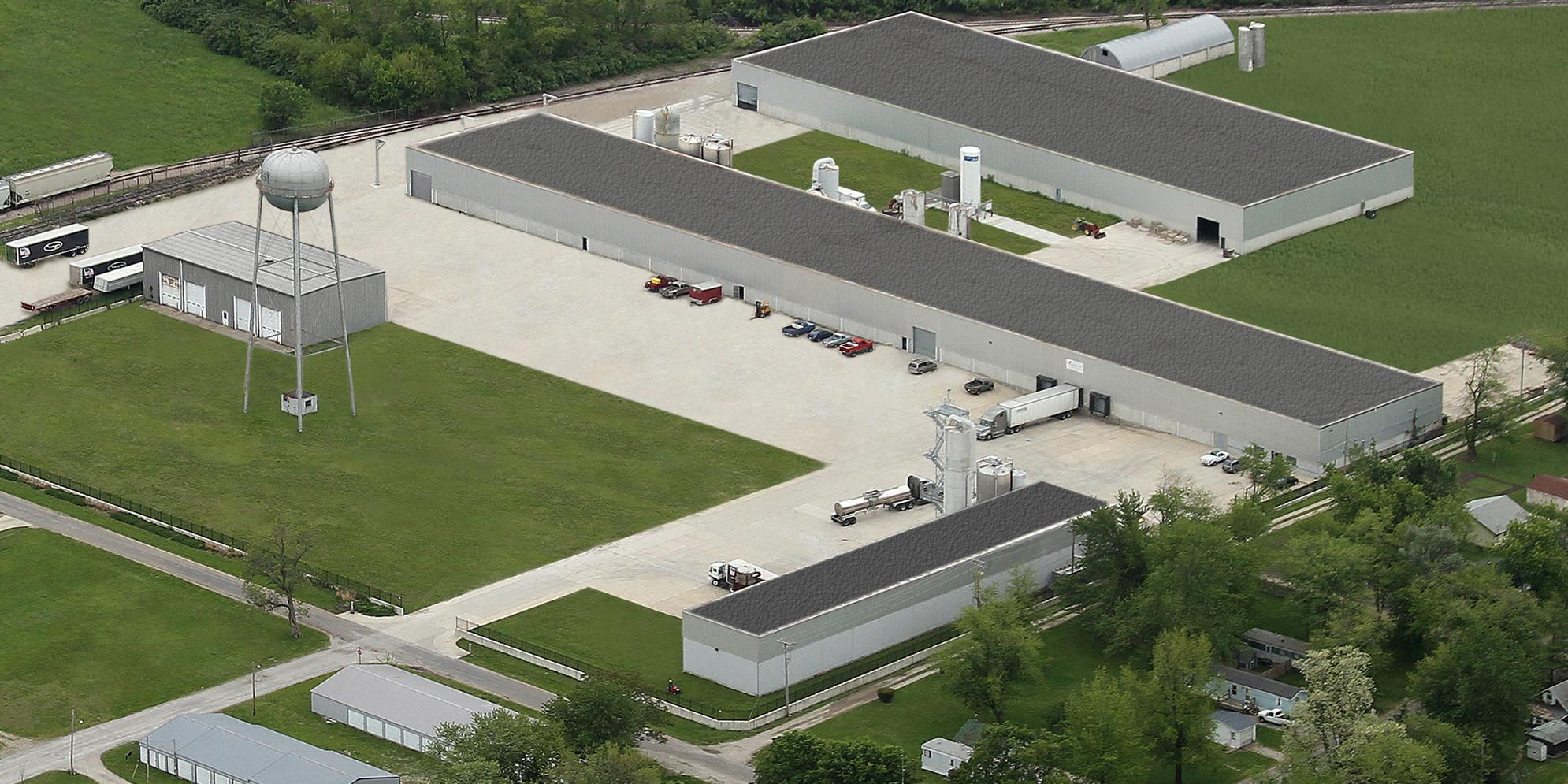 Milk Specialties Global Animal Nutrition facility in Paris, IL