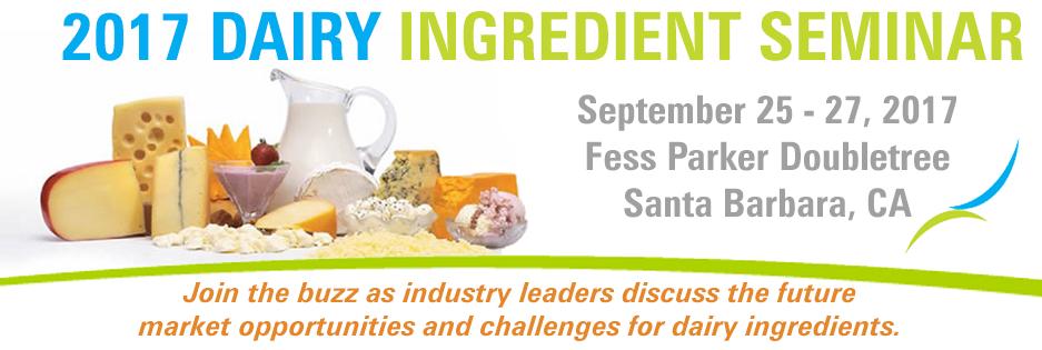 Dairy Ingredient Seminar
